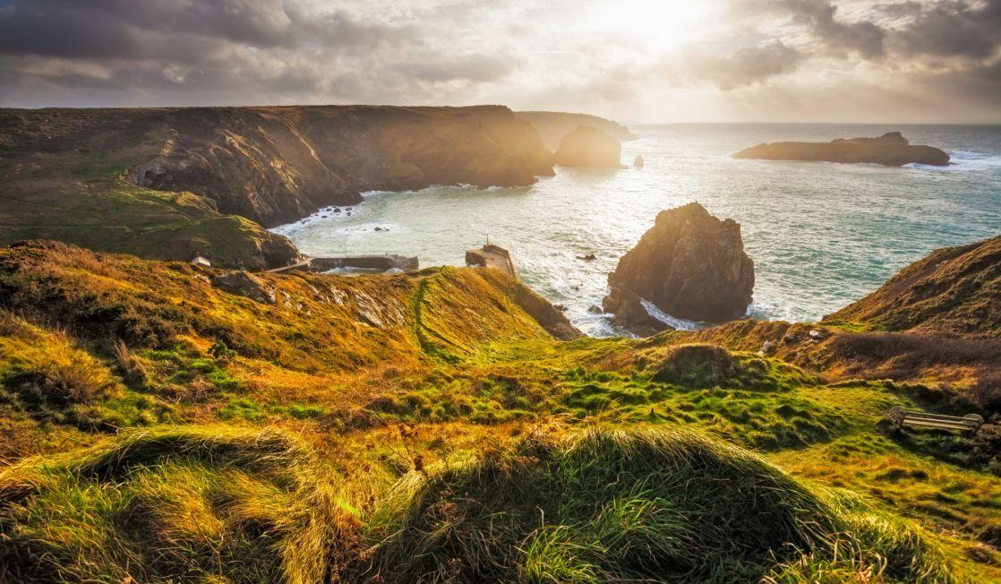Mullion Cove cliffs